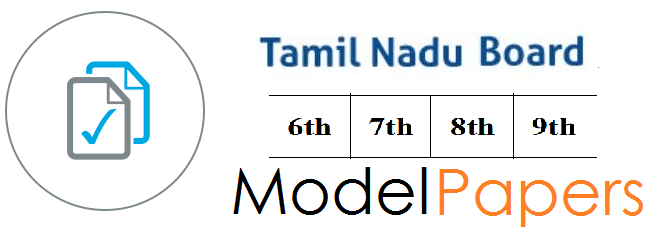 TN Board 6th, 7th, 8th, 9th Previous Question Paper 2019