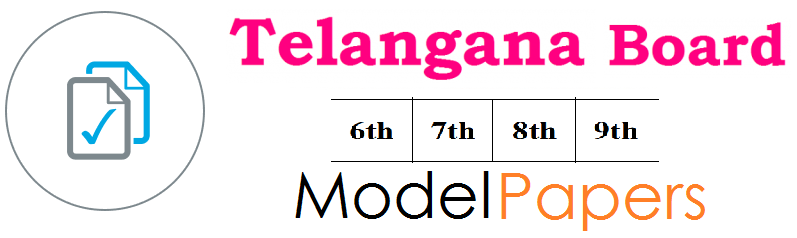 Telangana Board 6th, 7th, 8th, 9th Model Paper 2019 for SA, FA Exam Question Paper