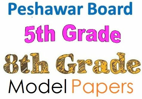 Peshawar Board 5th & 8th Class All Subjects Model Paper 2020