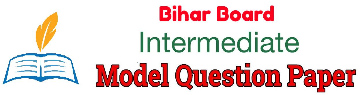 Bihar Board 12th Sample Paper 2019