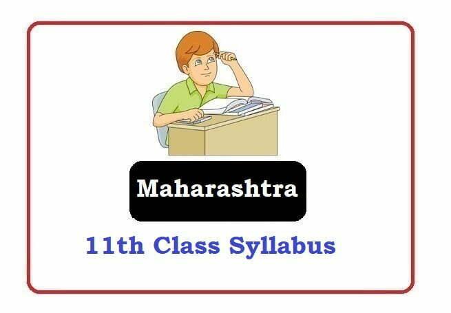 Maharashtra 11th Class Syllabus 2021