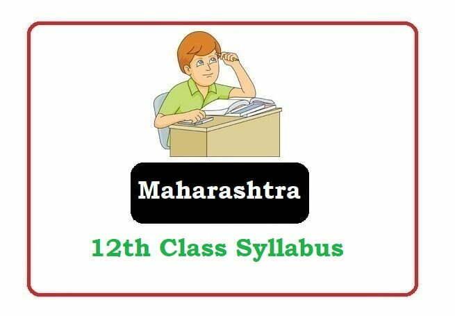 Maha Board 12th Syllabus 2020, MSBSHSE 12th Syllabus 2020