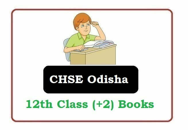 CHSE Odisha Plus Two Textbooks 2020, CHSE Odisha Plus Two books 2020