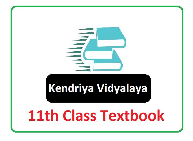 KVS 11th Class Textbook 2021