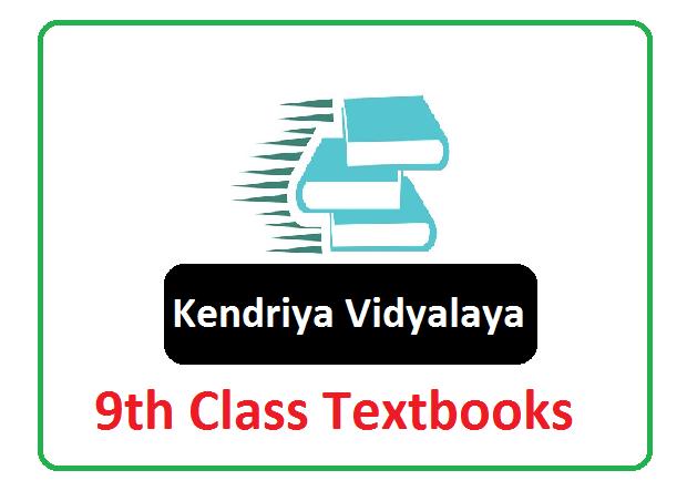 KVS 9th Class Textbooks 2021