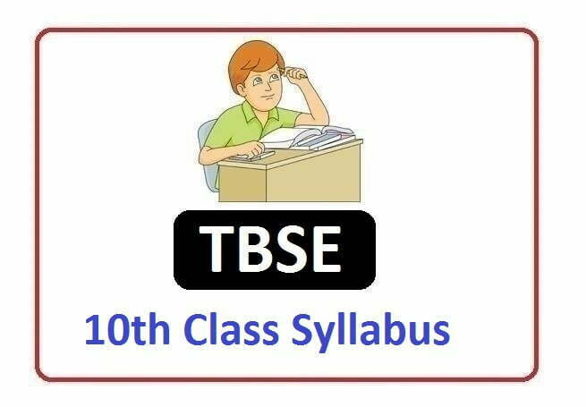 TBSE Madhyamik Syllabus 2021