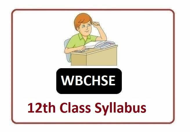 WBCHSE HS new Syllabus 2021