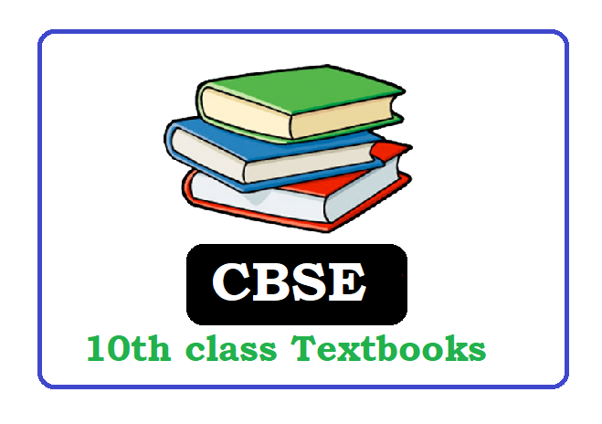 CBSE Class 10th Textbooks 2020, CBSE 10th books 2020