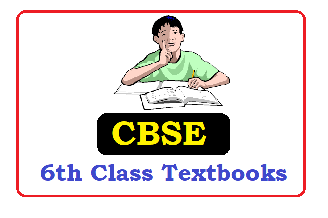 CBSE 6th Class Textbooks 2021
