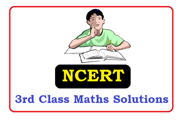 NCERT 3rd Class  Maths Solutions 2021