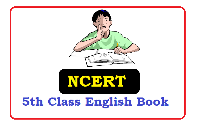 NCERT 5th Class English Textbook 2020