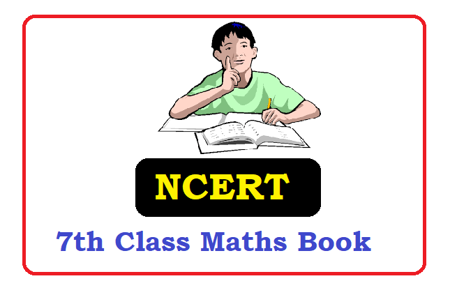 NCERT 7th Class Mathematics Textbook 2020