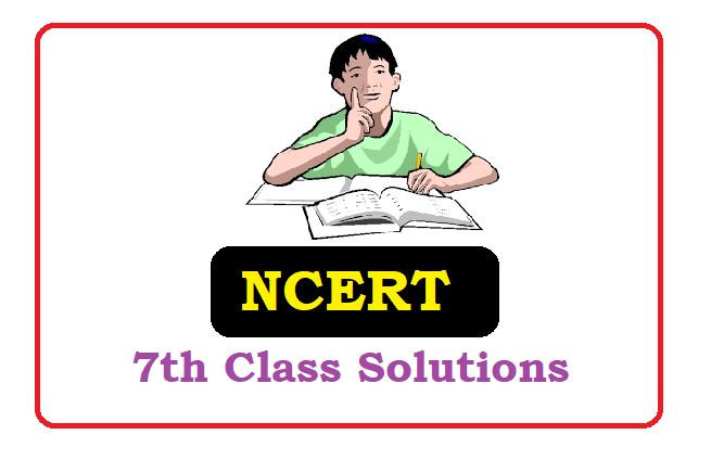 CBSE 7th Class Solutions 2020