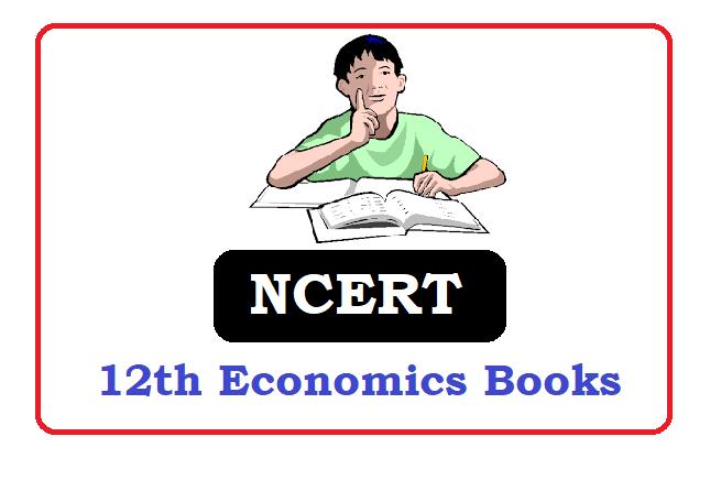 NCERT 12th class Economics Books 2021