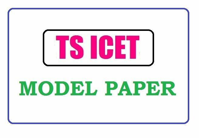 TS ICET Model Paper 2020