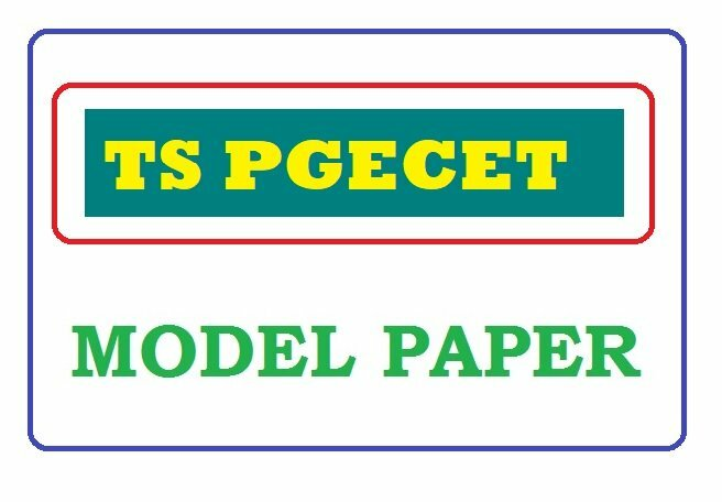 TSPGECET Model Paper 2020