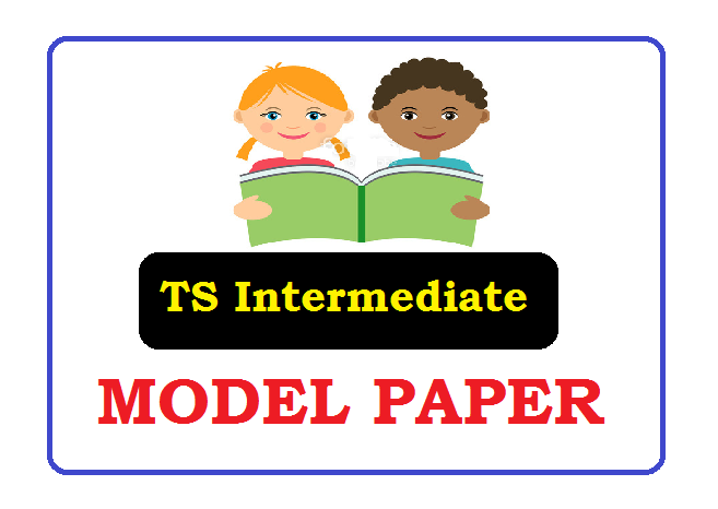 Telangana Inter 1st & 2nd year Model Paper 2021
