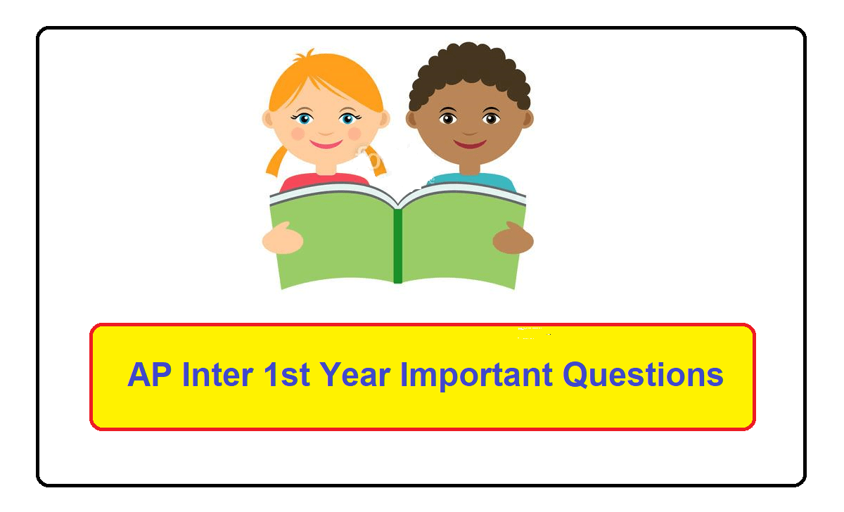 AP Inter 1st Year Important Questions 2021