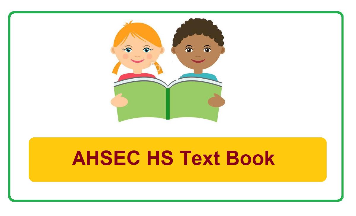 Assam 12th Textbook 2022