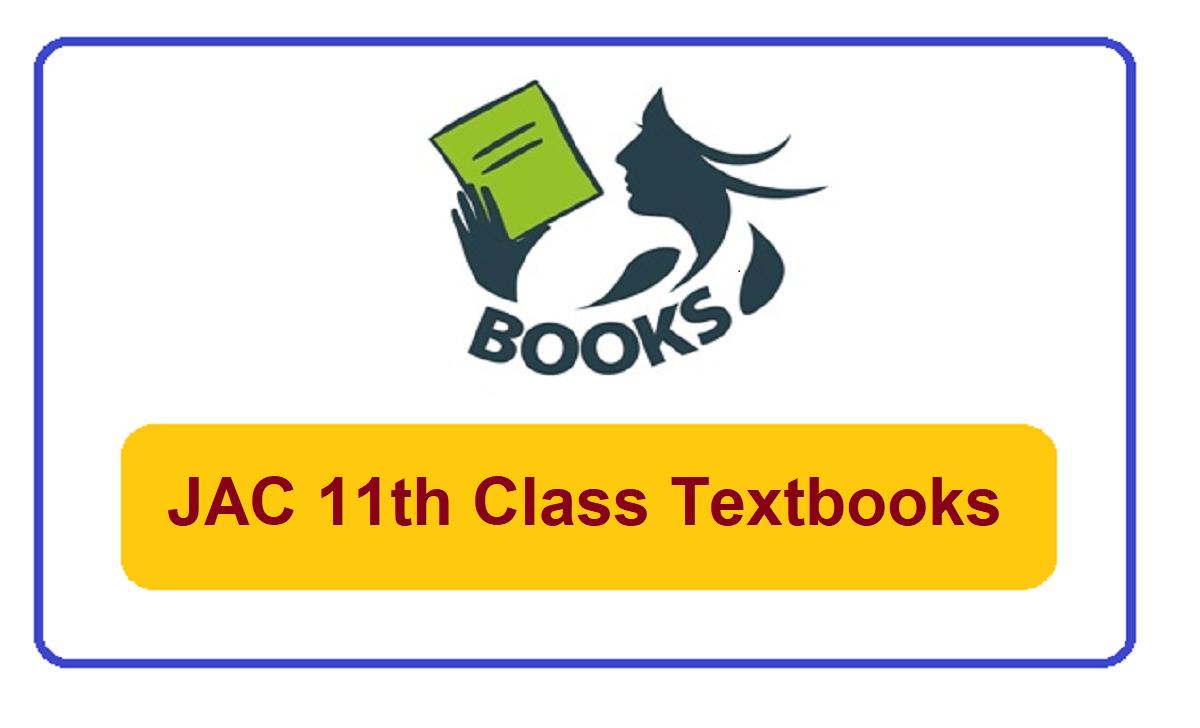 Jharkhand 11th Class Textbooks 2021