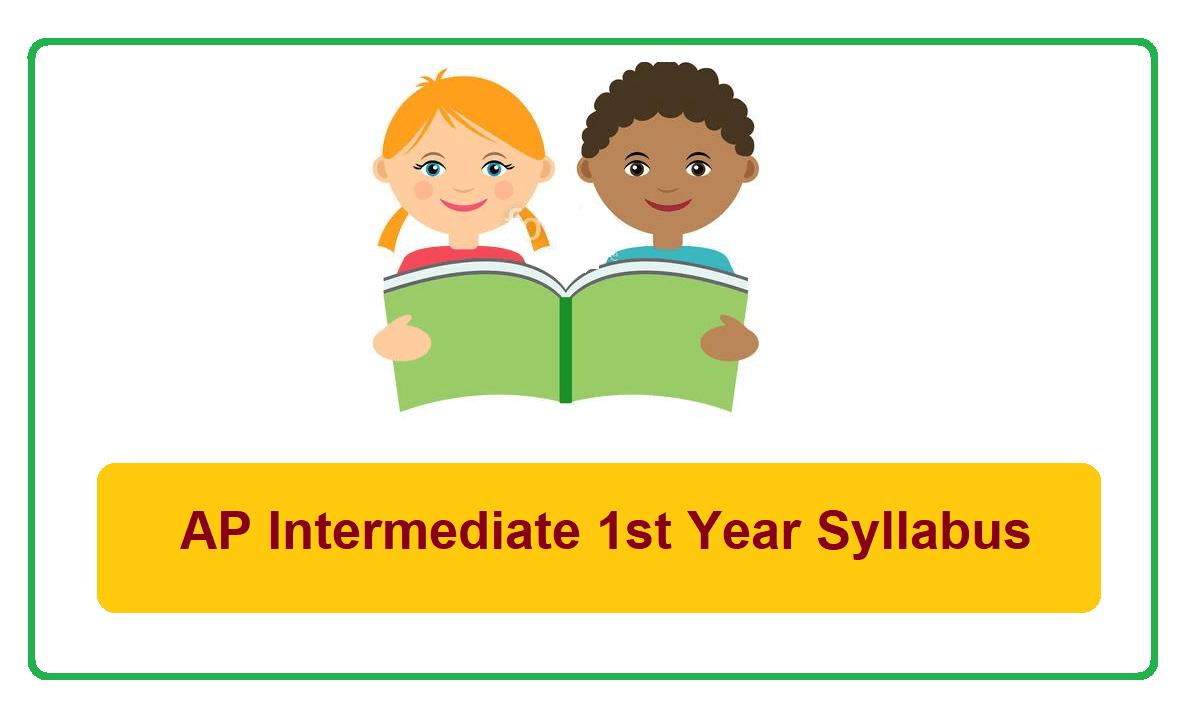 AP Intermediate 1st Year new Syllabus 2021-2022