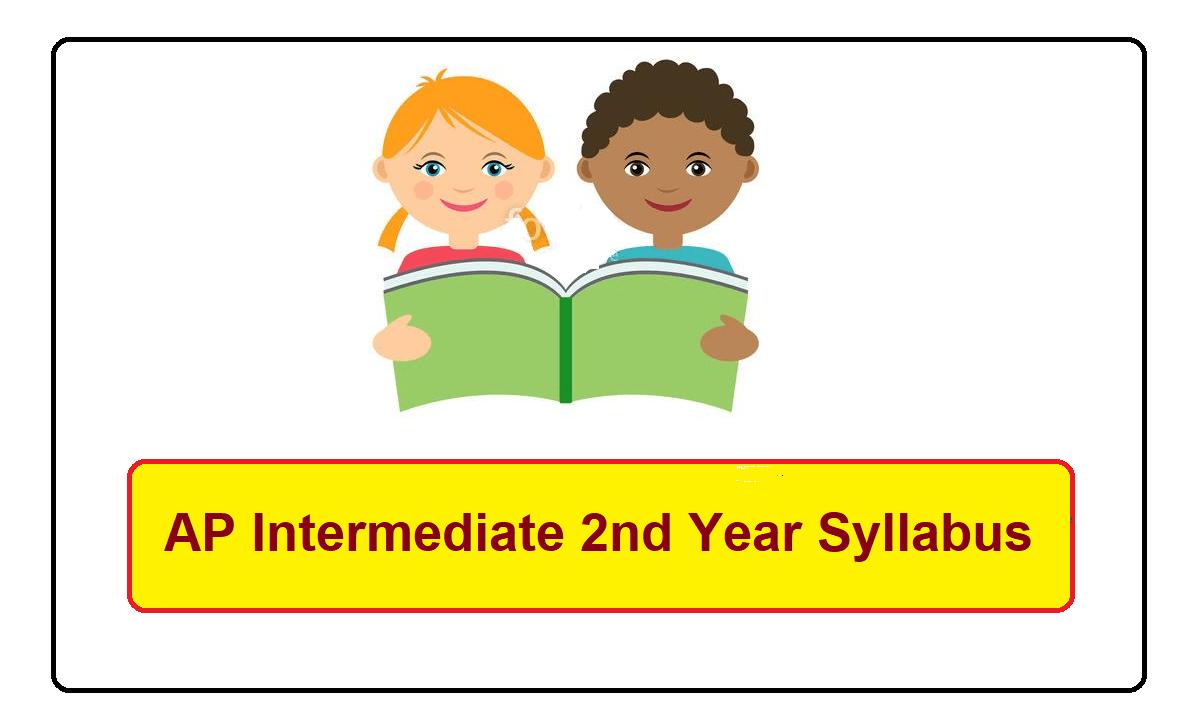 AP Intermediate 2nd Year Syllabus 2022