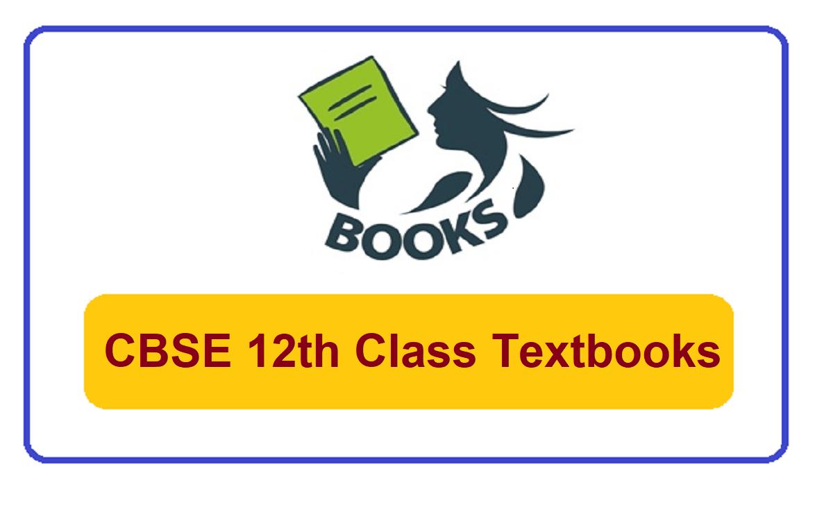 CBSE 12th Class Books 2022