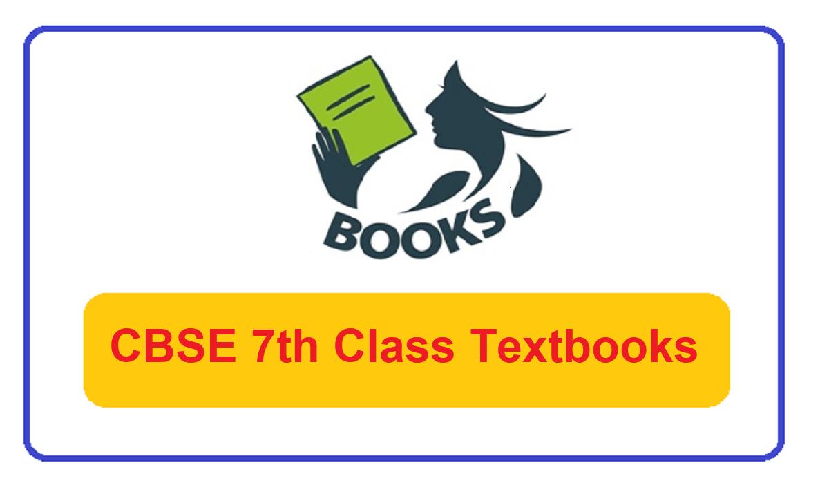 CBSE 7th Class Books 2022